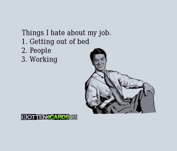 I Hate My Job – Get Me Out Of Here!